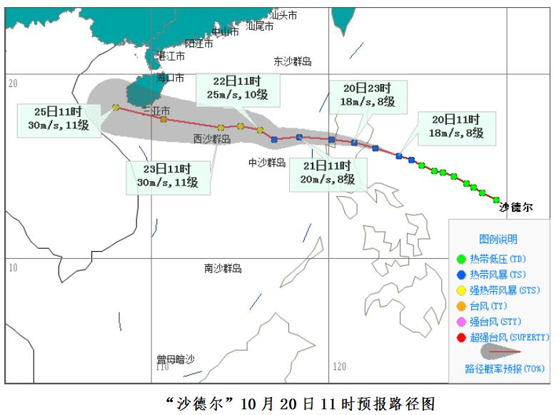 今年第17号台风接踵而至,海南将迎来强风雨天气……
