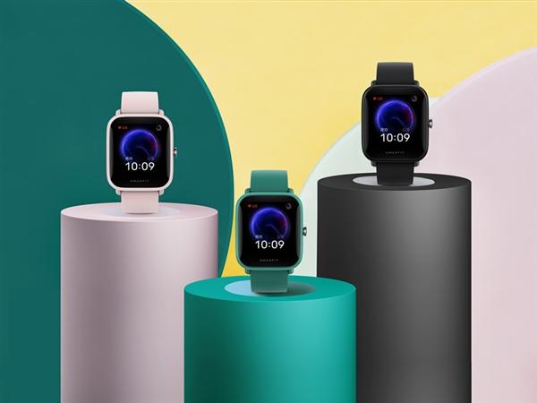 349元!小米系首款国民智能手表发布:支持血氧检测