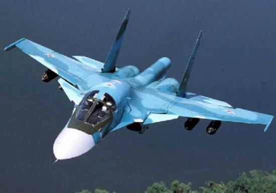 俄军一架苏34战机坠毁未造成人员伤亡