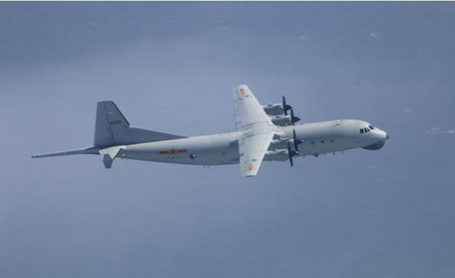 解放军运-8逆潜机(原料图)。图源:台防务部分官网