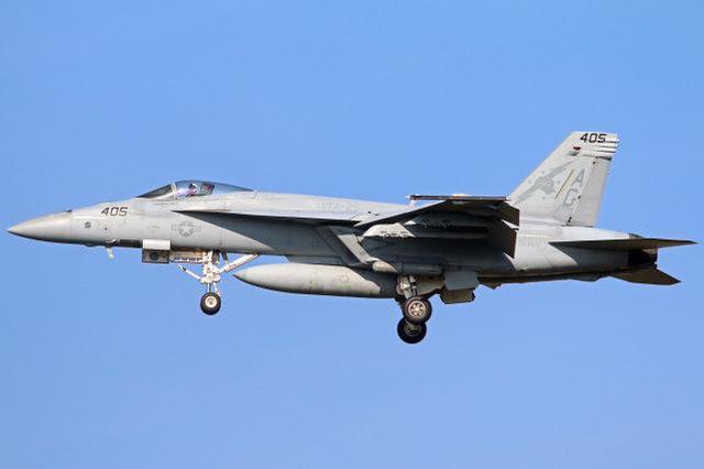 """原料图:F/A-18E""""超级大黄蜂"""""""