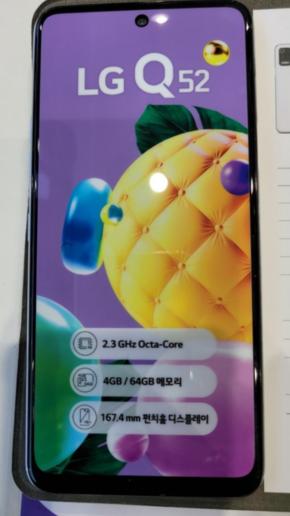 LG推出中端机型K52真机图曝光:联发科P35加持