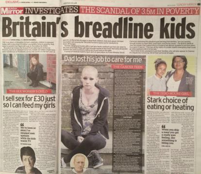 """疫情之下 英国或将有200多万贫困儿童面临""""假期饥饿"""""""