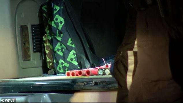 费城警方发现了一辆装有炸药的货车