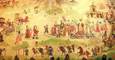 古画上的丝绸之路盛景(本版图片均为资料图)
