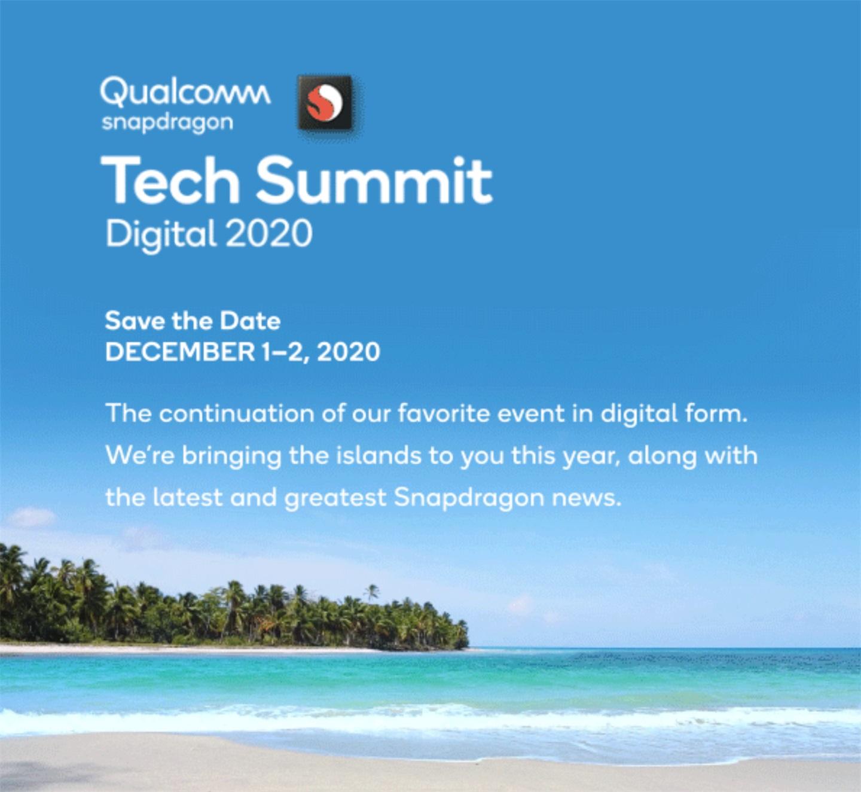 骁龙 875 要来了!高通发出邀请函:2020 骁龙技术峰会将于 12 月 1-2 日举行