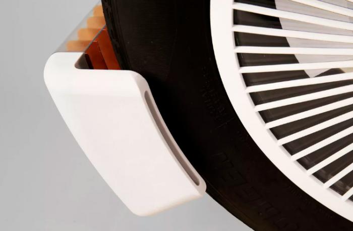 未来轮胎创新装置减少60%污染