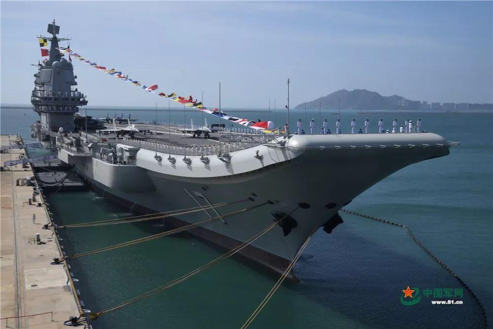 山東艦(資料圖) 圖源:中國軍網