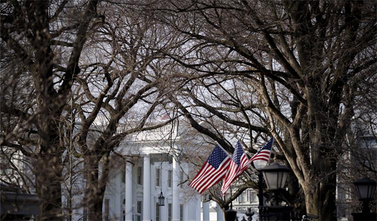 ▲1月8日,美国华盛顿白宫|新华社