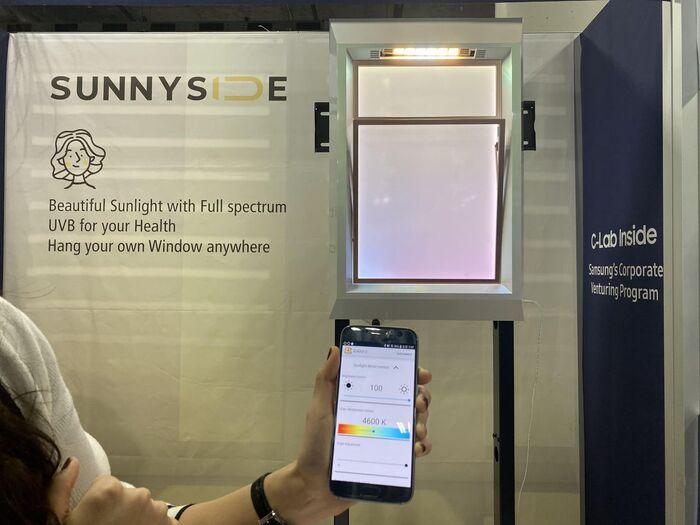 SunnySide 是一款窗户造型的光疗产品