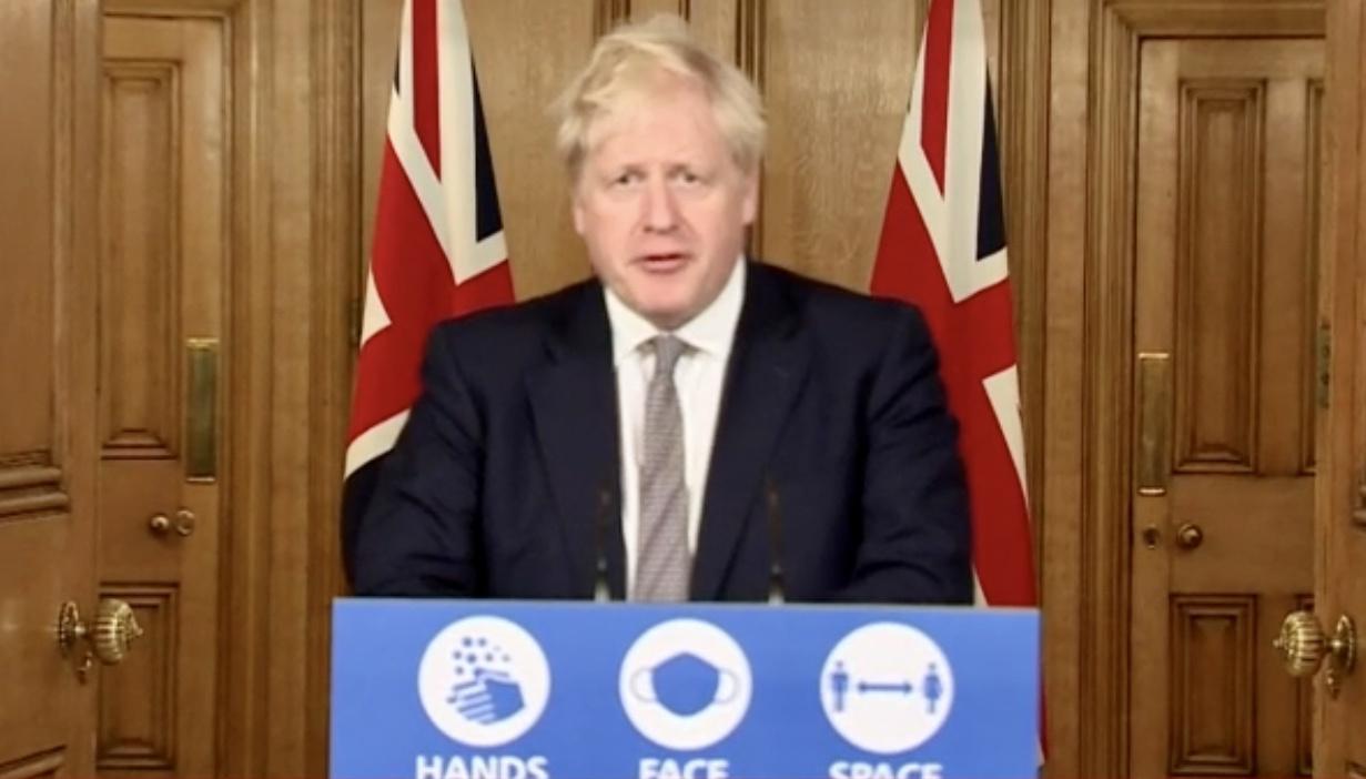 """英国首相宣布11月5日起英格兰进入第二次全面""""封锁"""""""