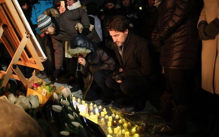 """▲当地时间1月11日,伊朗承认误击乌克兰客机后,添拿大总理特鲁多发布声明,期待伊朗""""周详互助""""空难调查,同时称,""""这是一场国家悲剧,一切添拿大人都将一首哀悼""""。图片来源:新京报网"""