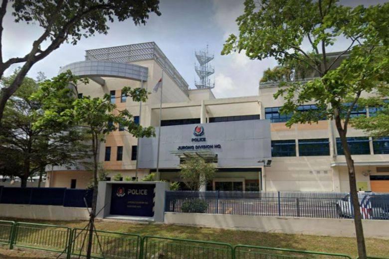 新加坡裕廊警署总部,图自新加坡当地媒体