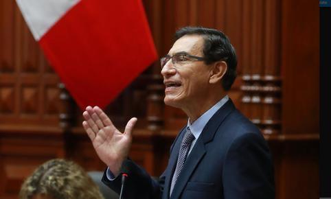 秘鲁国会投票通过弹劾现任总统比斯卡拉