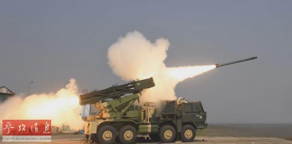 """印度研发制导版""""皮纳卡""""火箭炮 射程达原版两倍"""