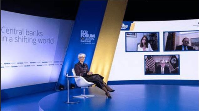 三大央行行长聚首论坛 鲍威尔:评估疫苗对经济影响为时尚早