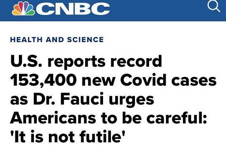△CNBC报道,福奇认为,美国仍需要更多测试才能够识别出没有症状,但目前已经被感染、并且携带传播病毒的潜在患者。