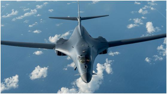 美国空军B-1B战略轰炸机