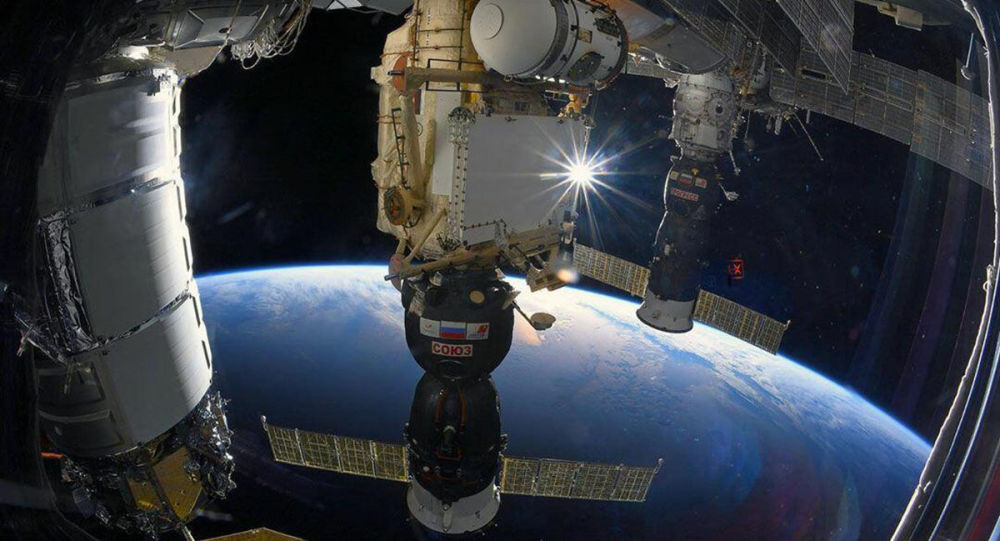 国际空间站(俄罗斯卫星通讯社)