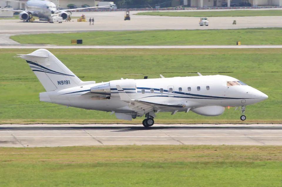 △庞巴迪CL-604海上监视飞机