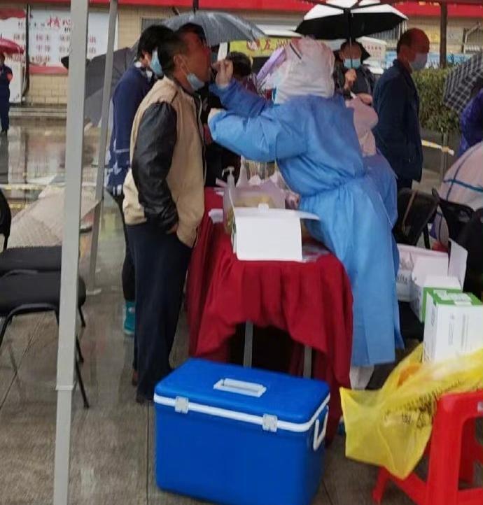 安徽颍上张洋小区居民二次核酸检测均为阴性