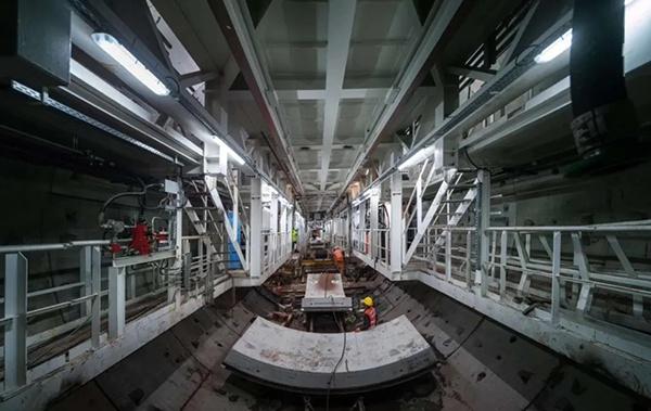 廣州地鐵十八號線盾構施工