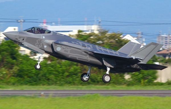 原料图片:日本空自F-35A隐身战机。(日本防卫省官网)