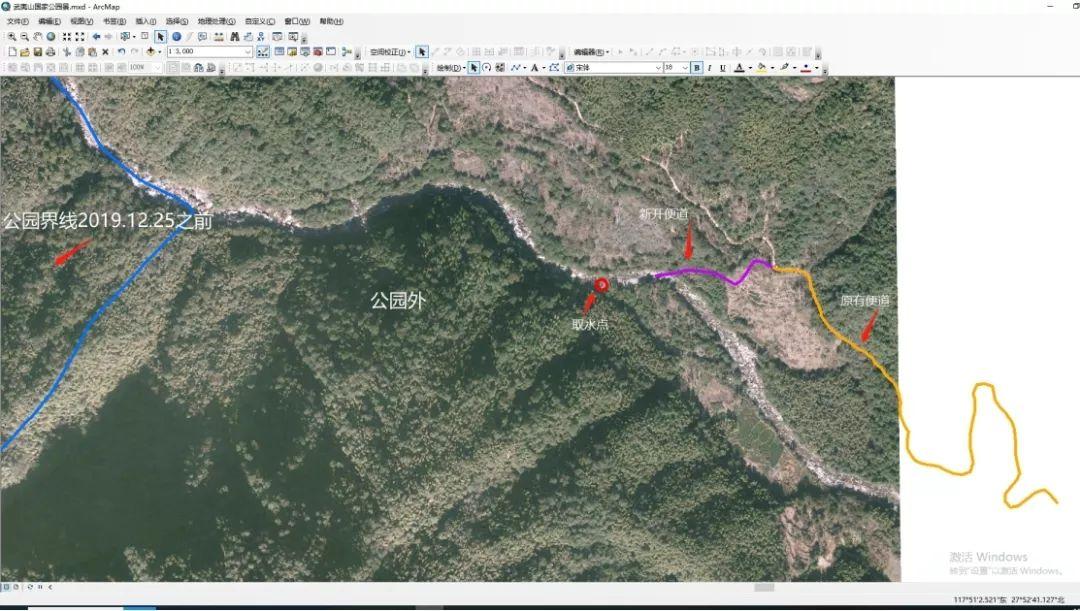 图1:农人山泉公司施工地址示意图
