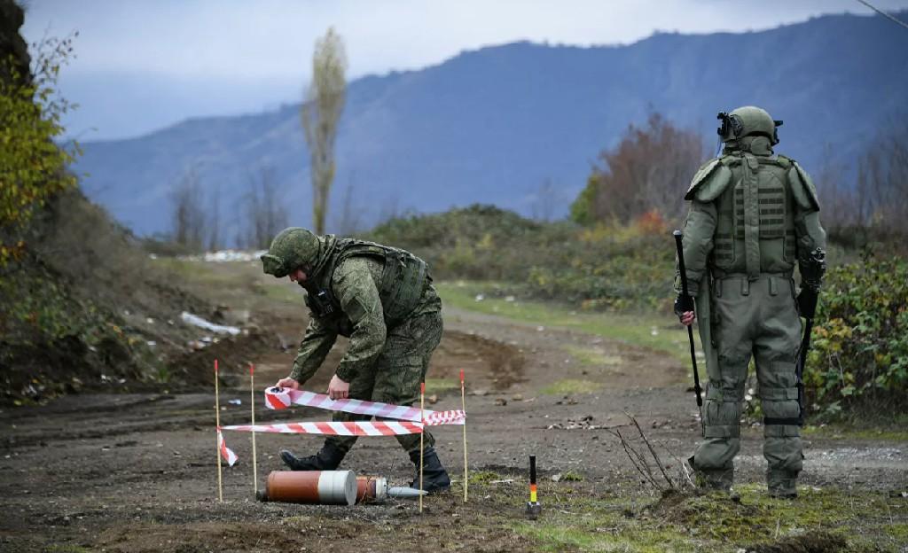 纳卡地区地雷爆炸造成1死5伤
