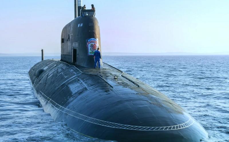 """俄罗斯""""喀山""""号核潜艇完成导弹试射"""