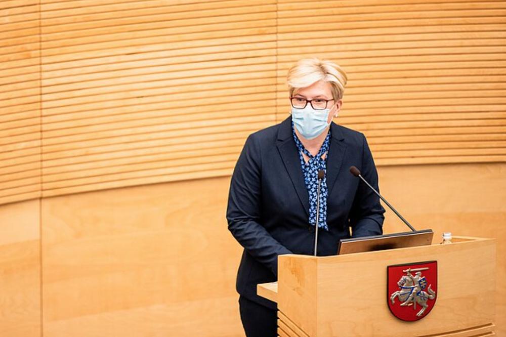 立陶宛议会批准希莫尼特担任总理一职