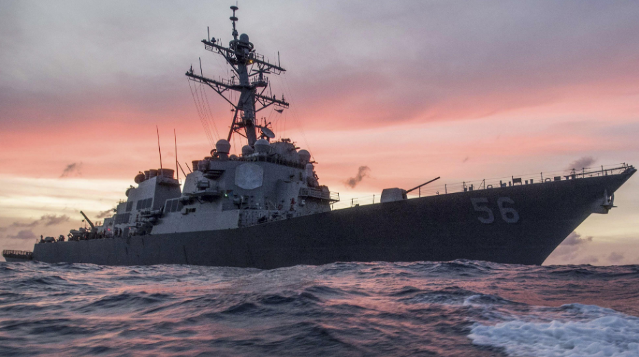 英媒:美军舰的这个举动或将引发第三次世界大战