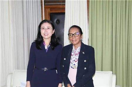 中国驻马达加斯加大使到任拜会马国民议会议长