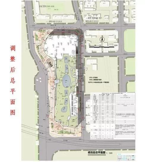 南昌苏宁广场规划调整,购物中心立面由金属改石材幕墙