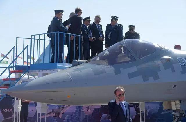 俄制苏—57战机