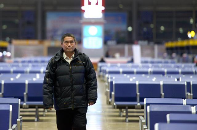 空旷安静的北京南站