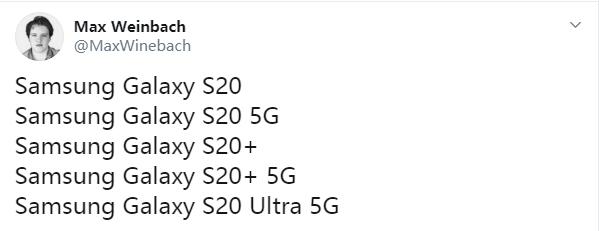 三星Galaxy S20/S20+有4G版 预计国行版仅推出5G版本