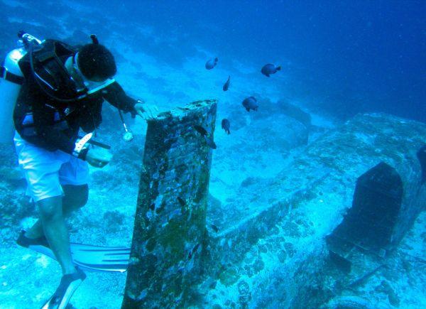 资料图:菲律宾拥有丰富的海洋资源,菲旅游部近年来大力发展潜水旅游。(新华社)