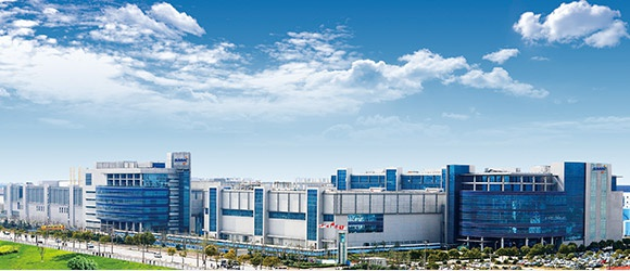 位于浦东的中芯南方厂 图自:中芯国际官网