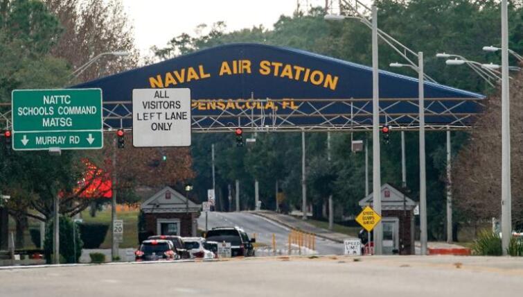 彭萨科拉海军基地 图自Getty Images