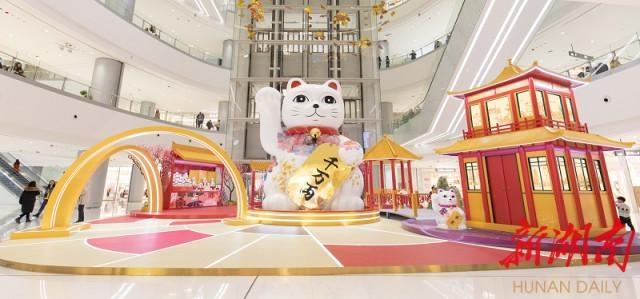 """潮流艺术传递美好愿景,长沙IFS开启""""星春""""年味"""