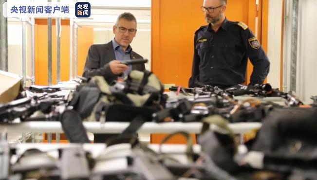 奥地利居民违反枪支法 家藏170种武器和大量弹药