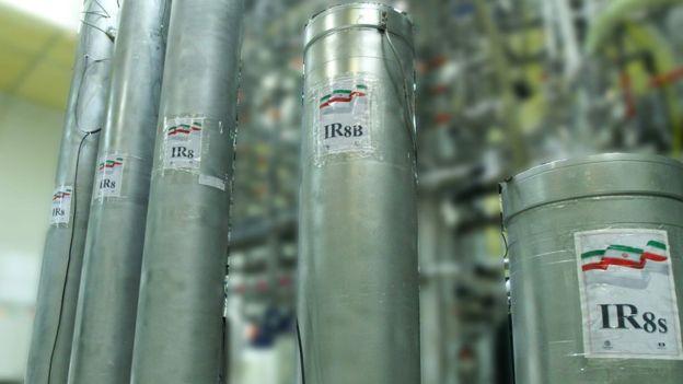 伊朗的离心机设施 法新社图