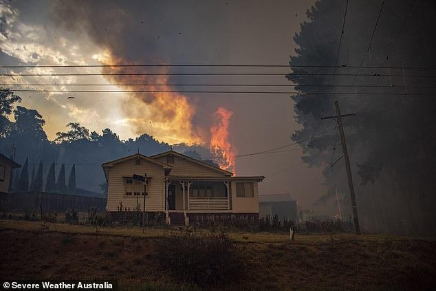 澳大利亚大火(图源:每日邮报)