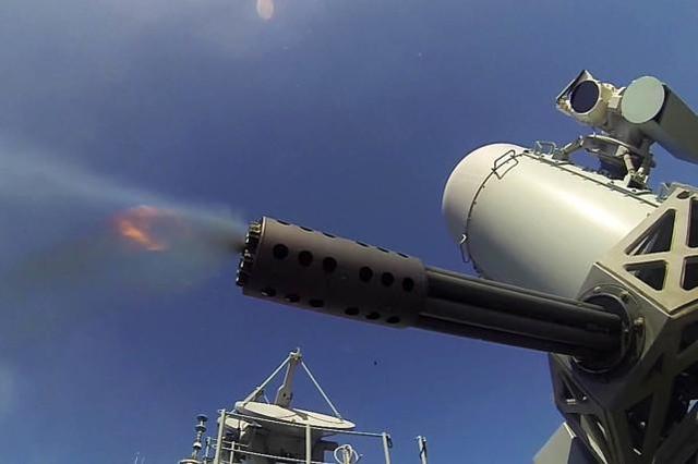资料图:MK-15近防武器系统
