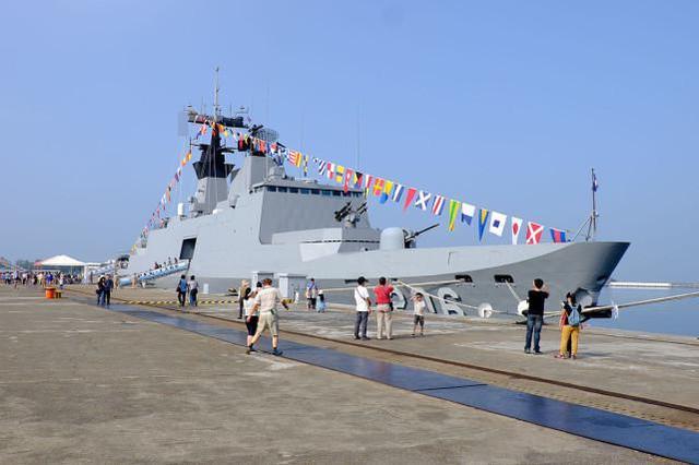资料图:台军军舰