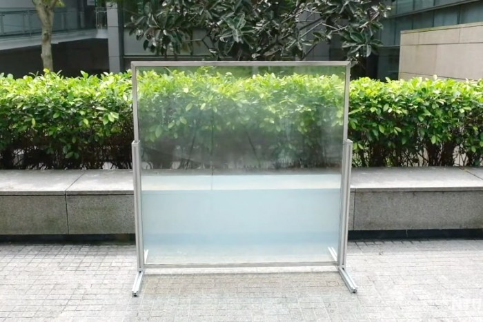 """新加坡南洋理工大学科学家开发节能""""液体窗口"""""""