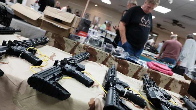 枪械商店(图片来源:《国会山报》)