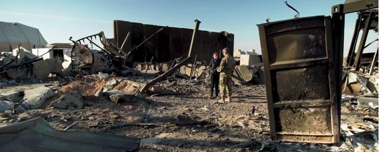 侵犯构成的阿萨德基地废墟 CNN图