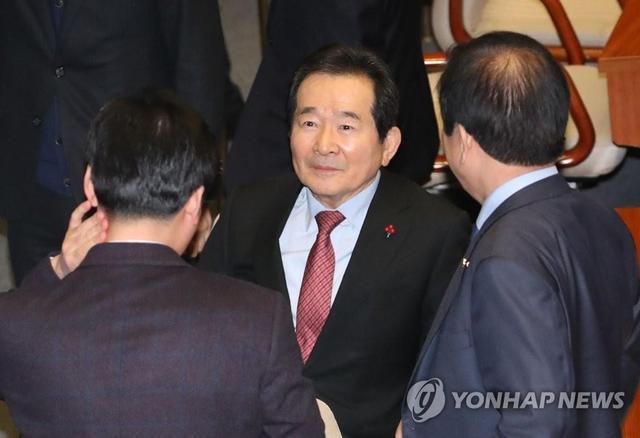 ▲韩国新任国务总理丁世均。来源:韩联社